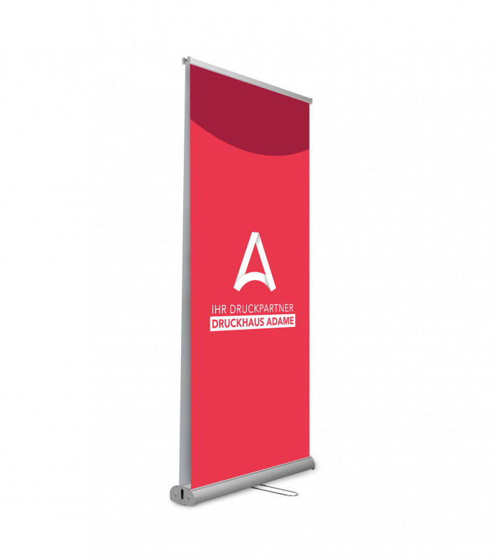 Roll-Up TwinPlus, Druck inkl. System