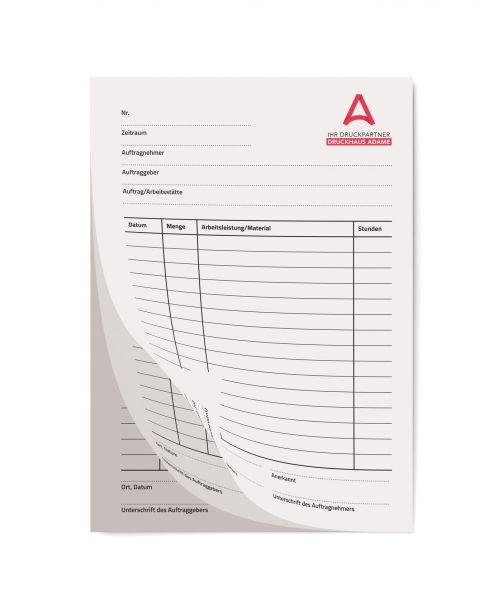 Durchschreibesätze 3-fach Standard als Einzelsatz