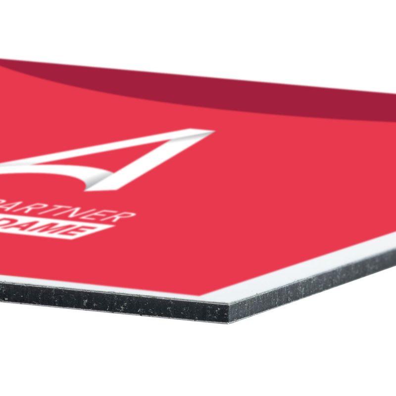 Aluminium Verbundplatten im Wunschformat