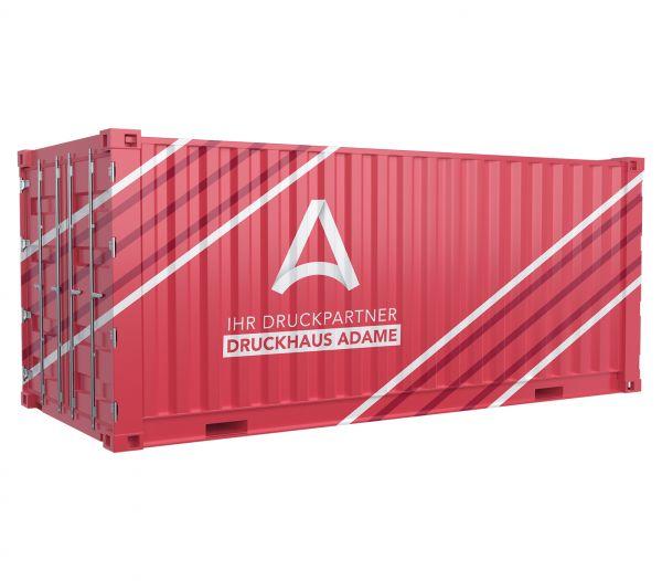Containerbeklebung