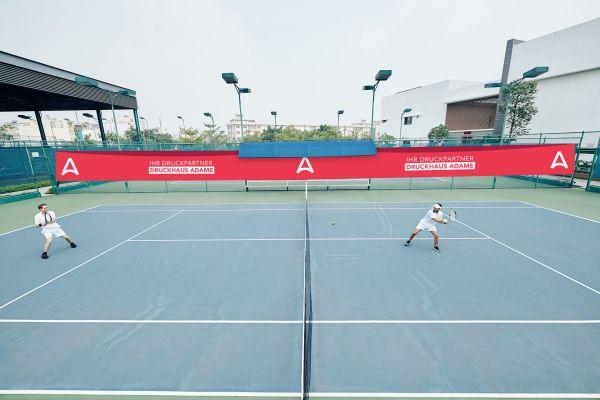 Tennisblenden im Wunschformat