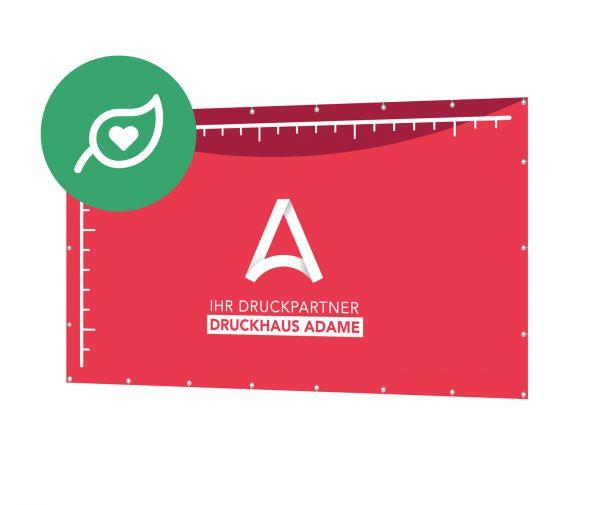 Banner & Planen im Wunschformat (Grün)