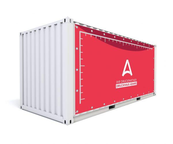 Containerbanner im Wunschformat